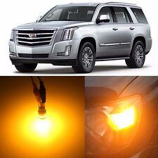 Alla Lighting Side Marker Light 194 Amber LEDs for ~14 Cadillac Escalade ESV EXT