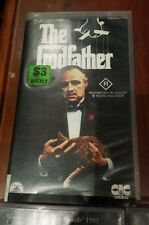 THE GOD FATHER vhs
