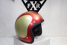 Shoei Buco red 1973 helmet silverflake L Harley Honda motorcycle NOS EPS19985
