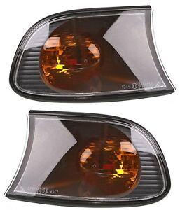 2 CLIGNOTANTS AVANT ORANGE BMW SERIE 3 E46 COMPACT 316 ti 06/2001-12/2004