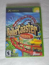 Roller Coaster Tycoon (Original Xbox, 2003)