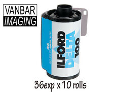 Ilford Delta 100 36 exp 100iso (10 rolls)