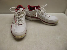 NIKE WHITE & RED SNEAKERS MEN'S YOUTH 7 Y EUR 40