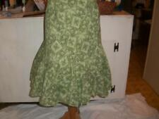 WOMENS PLUS SZ 20W SKIRT BY JH COLLECTIABLES GREEN PRINT LINED  NWOTS   CLOTHING