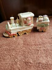 Lenox Christmas Holiday Traditions Train Engine Present Gifts Car Figurines