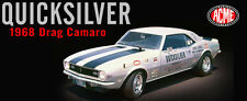 "ACME 1968 Z28 CAMARO BILL DREVO'S ""QUICKSILVER"" DRAG CAR 1:18*New!"