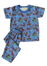 Scooby Doo Printed Pajama Set Boys Toddlers / Kids Sleepwear, L (5-6 yrs old)