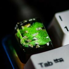 Rare Backlit Keycaps  Cherry MX Mechanical Keyboard Key Cap Pure Resin Handmade