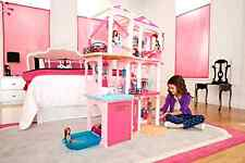 Barbie Doll 3 Story Dream House Play Elevator Furniture Dreamhouse Mansion Girls