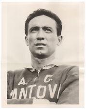 Vintage 1963 Guiseppe Corradi, Italian Football Soccer Wire Photo, Mantova FC