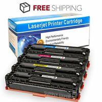 4PK Toner Set CF210A 131A Black Color For HP LaserJet Pro 200 M251nw MFP M276nw