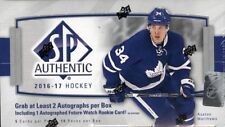2016/17 Upper Deck UD SP Authentic Hockey Hobby Box (18 Packs)(Sealed) 16/17 SPA