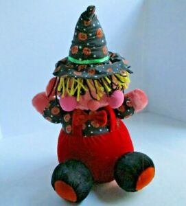 Play By Play Halloween Witch Plush Decoration/Toy