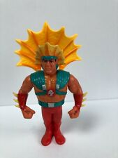 Ricky The Dragon Steamboat Series 4 WWF Hasbro Vintage Action Figure Complete