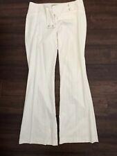 Arden B Womens White Slacks Size 8