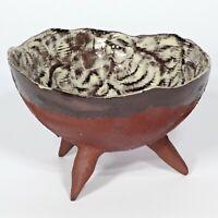 "Skulptur Schale ""Nephele""  14cm Unikat Keramik Andreas Loeschner-Gornau"