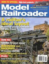 Model Railroader Aug.2006 Interiors Narrow Gauge Benchwork Santa Fe Branch Line