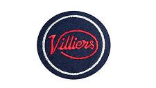 Parche bordado clásico Villiers Motocicleta - 2 tiempos, James, Francis Barnett