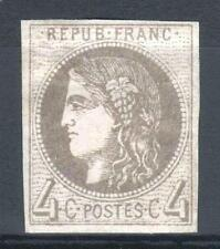 "FRANCE STAMP TIMBRE N° 41 Bd "" CERES BORDEAUX 4c GRIS FONCE "" NEUF x TB  P613"