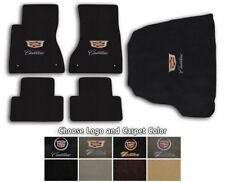 Cadillac CTS 5pc Velourtex Carpet Floor Mat Set - Choose Color & Logo