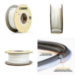 Gizmo Dorks Nylon Filament for 3D Printers 3mm (2.85mm) 200g, White