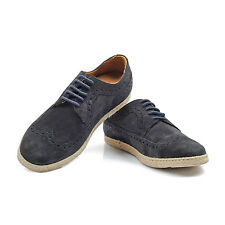 Canali Slate Suade Oxford Shoe Size US 7 EU 40 NEW CSH42