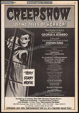 CREEPSHOW__Original 1982 Trade screening AD / poster__STEPHEN KING__Jack Kamen