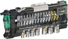 Wera 05056490001 Tool Check Plus Mini Ratchet Socket and Bit Set 39 Piece
