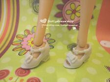 Doll Shoes ~ Takara Adorable White Bow Sandal shoes 1PAIR NEW OB27cm/Momoko