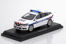RENAULT MEGANE ESTATE POLICE MUNICIPALE WHITE 2016 NOREV 517794 1/43 BREAK SW