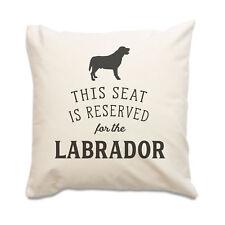 NUOVO - Reserved for the Labrador - Alta Qualità Copricuscino - cane idea regalo