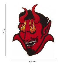 Patch  Bikers,Diable custom,USA, Country,Décoration ,air soft Paintba