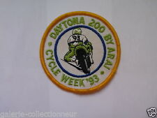 DAYTONA 200 1993 OFFIIAL PATCH CREST BROAD RACING BYKE CYCLE WEEK