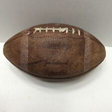 Vintage Rawlings Top Grain Leather Gyro Metric Football Made in USA!