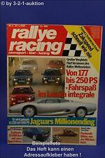 Rallye Racing 2/90 Lancia Delta Jaguar XJ 220 190E 2.5