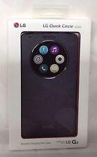 NEW!!! LG Quick Circle Wireless Charging Folio Case for LG G3 - Black