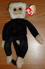 Ty Original Beanie Baby MOOCH the Monkey w/Tag 1999 beanbag plush