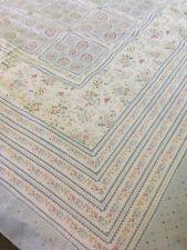 VINTAGE SHERIDAN Australian Percale Quilt Cover Geometric Print Queen 90's