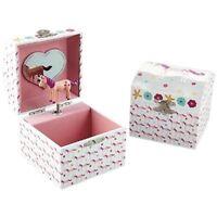 Unicorn Musical Jewellery Box with Pink Unicorn