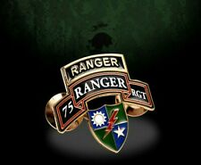 Army Ranger 75Th Regiment Military Hat Pin