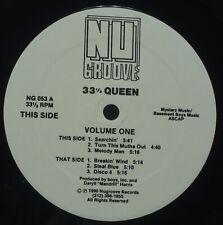 """33 1/3 Queen – Volume One  - Nu Groove 12"""""""