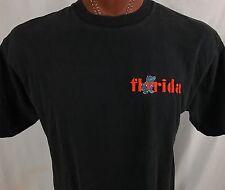 Florida Gators Black Graphic T Shirt 100% Cotton L / XL