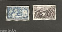 1941 France SC #B112-113 Relief Fund  MH stamps