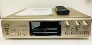 SONY MDS-JA333ES MiniDisc Deck w/Dedicated remote control Working Good Japan F/S