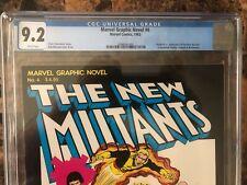 Marvel graphic novel #4 CGC 9.2 Origin and 1st appearance New Mutants MCU Movie