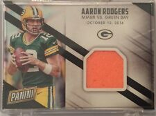 2016 Panini Day Aaron Rodgers Game Used Pylon Packers