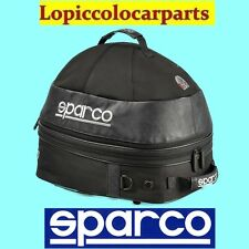SPARCO BORSA PORTACASCO E COLLARE HANS COSMOS 016433NR CON VENTOLA 12VOLTS