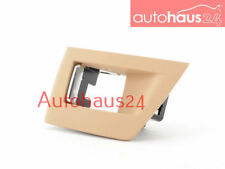 BMW F10 5 SERIES 11-16 528I 550I RIGHT DOOR WINDOW SWITCH COVER BIEGE GENUINE OE
