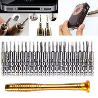 25 in 1 Mini Precision Screw Driver Cell Phone Repair Tool Set Tweezers Mobile