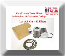 6 Kits of Auto Trans Filter Kit HF35153 Fits: For Vehicles With Allison Trans